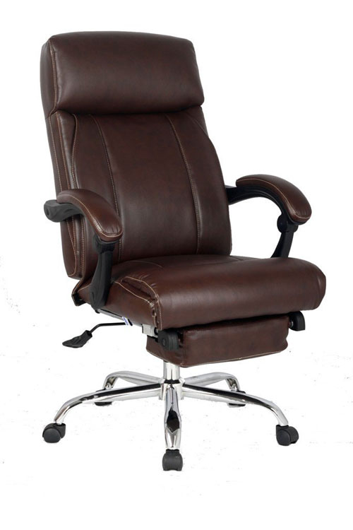 VIVA OFFICE High Back Bonded Leather Office Recliner Chair