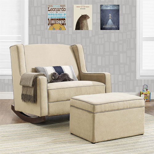 Baby Relax Hadley Double Rocker - Best Nursery Chairs