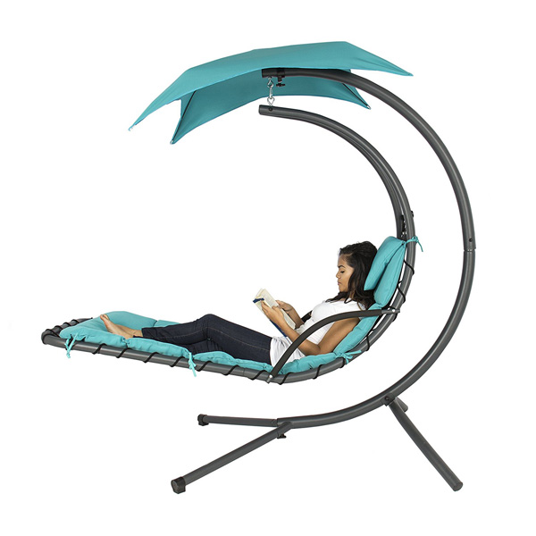 We Chose To Include The Best Choice Products Hanging Chaise Lounger As A  Highlighted Patio Recliner Because It Is Such A Unique Option.