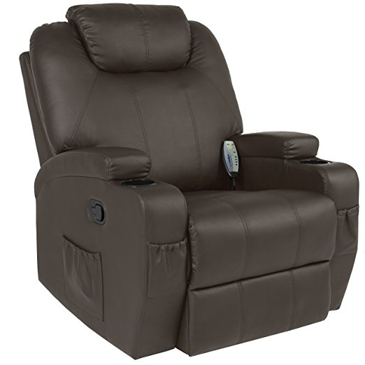Heated Recliner Chairs - Best Choice Products Massage Recliner