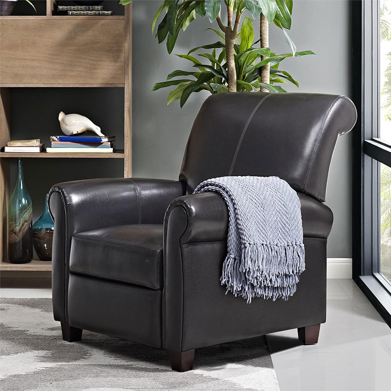 finding the best small leather recliners