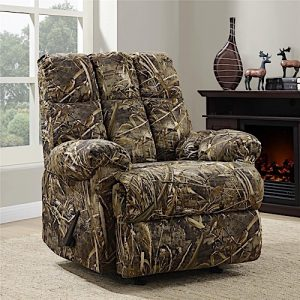 Dorel Living Real Tree Camouflaged Rocker Recliner - Best Camo Recliner